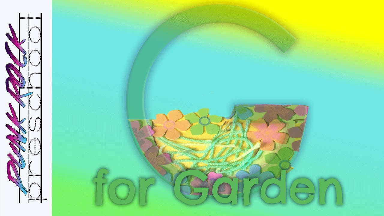 Letter G for Garden | Fun Preschool Crafts for Kids | Best Preschool ...