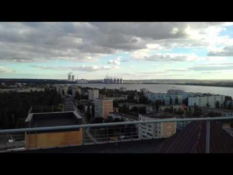 Нововоронеж. Вид на НВАЭС и город с самой высокой крыши!