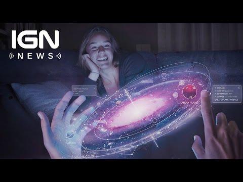Magic Leap Reveals Hololens-Like Device - IGN News