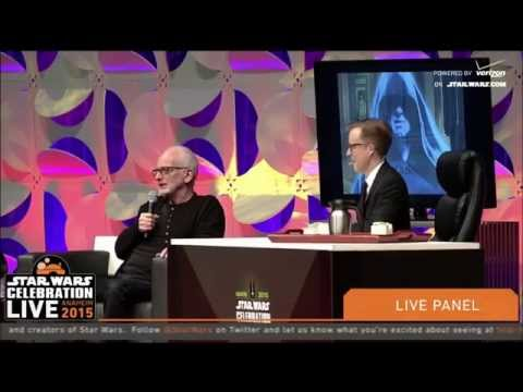 Star Wars Celebration VII 2015 Ian McDiarmid Panel