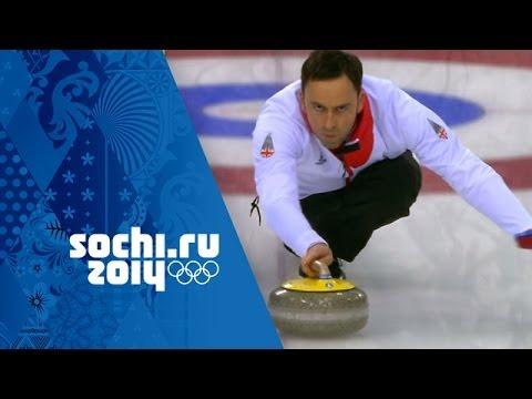 Curling - Men's Semi-Final - Sweden v Great Britain   Sochi 2014 Winter Olympics