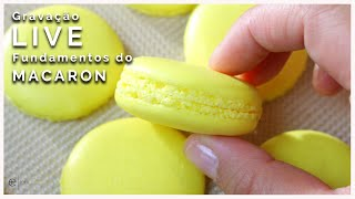 Fundamentos do Macaron   Gravação Live com a Chef Erika Hayashi