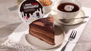 Кофейно-шоколадный торт