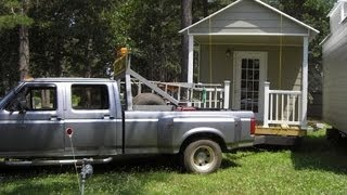Shotgun Shack Family Tiny Cottage on Wheels For Sale