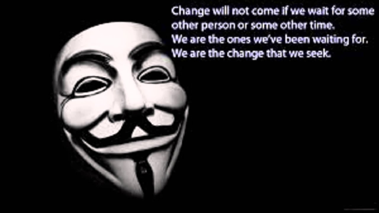 Anonymous Quotes Gorgeous Anonymous' Quotes  Youtube