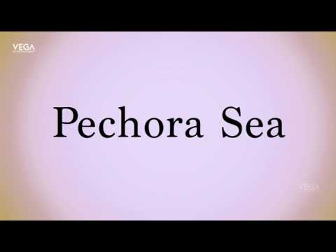 How To Pronounce Pechora Sea