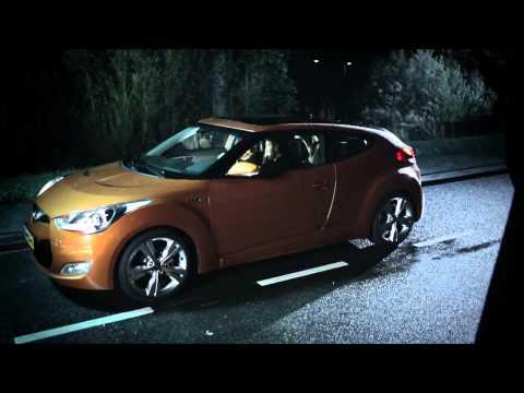 "Hyundai Veloster - реклама в стиле ""Страшного кино"""