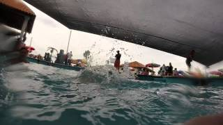 Aguas termales del Balneario Santa Ana Hueytlalpan Hidalgo - GoPro46