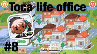 Toca life office | The courthouse!?!? #8