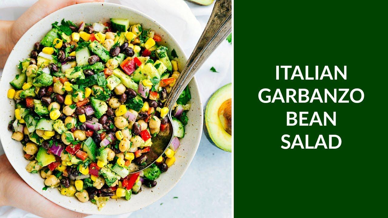 Italian Garbanzo Bean Salad