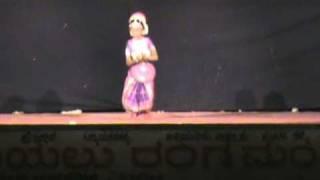 Sarswati namastubhyam by UKG girl saniya.VOB