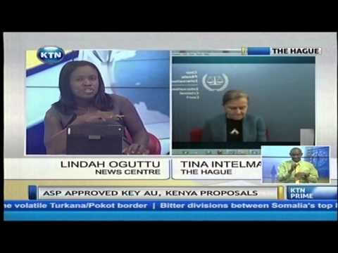 Live interview with President of Assembly of state parties Tina Intelman on ICC cases
