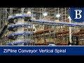 ZiPline Vertical Spiral Conveyor