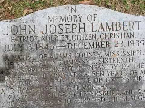 May 25  A Survivor of the Confederate Alamo