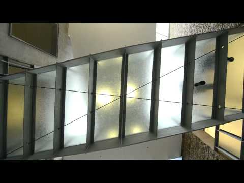Jockimo Inc., Oklahoma City Federal Building project - Glass Flooring and Cast Glass Handrails