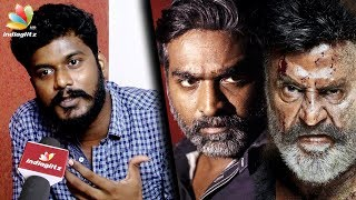 Vijay Sethupathi Smiles to hide his BAD TEMPER : Actor & Dialogue Writer Manikandan | Kaala