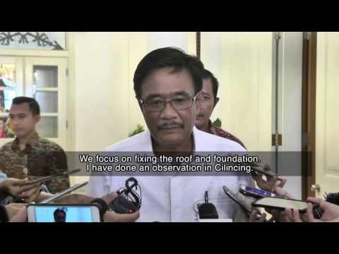 Jakarta Governor on House Renovation Program