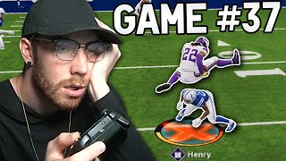 If I lose, the video ends... (Madden 21)