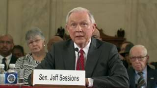 Sessions Denies Allegations of Racial Animosity Free HD Video