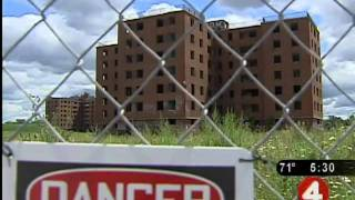 Asbestos danger near athletic field?