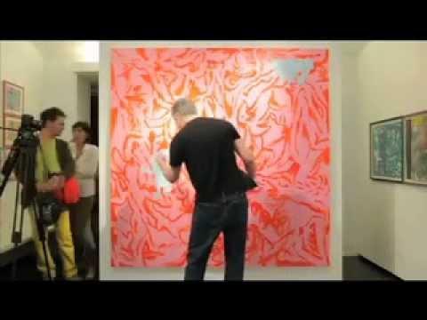 Gary Panter / Stéphane Blanquet, rencontre  - Galerie Martel, Paris 2011 - Ludovic Cantais