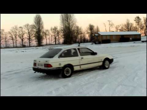 Ford Sierra - Winter Driving