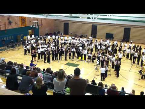 """Bellingham School District All-City Band Concert - """"Stars a"""