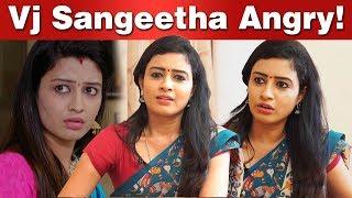 Serial வில்லியின் கனவு நாயகன் யார்? | Azhagu Serial Actress Sangeetha Exclusive Interview