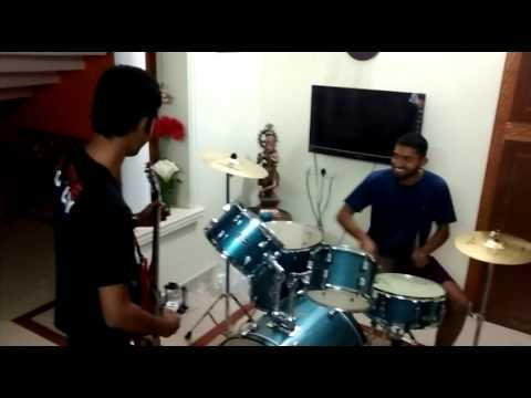 FENESTRA BAND_drums sankaranand_guitar jithin j practice sessions