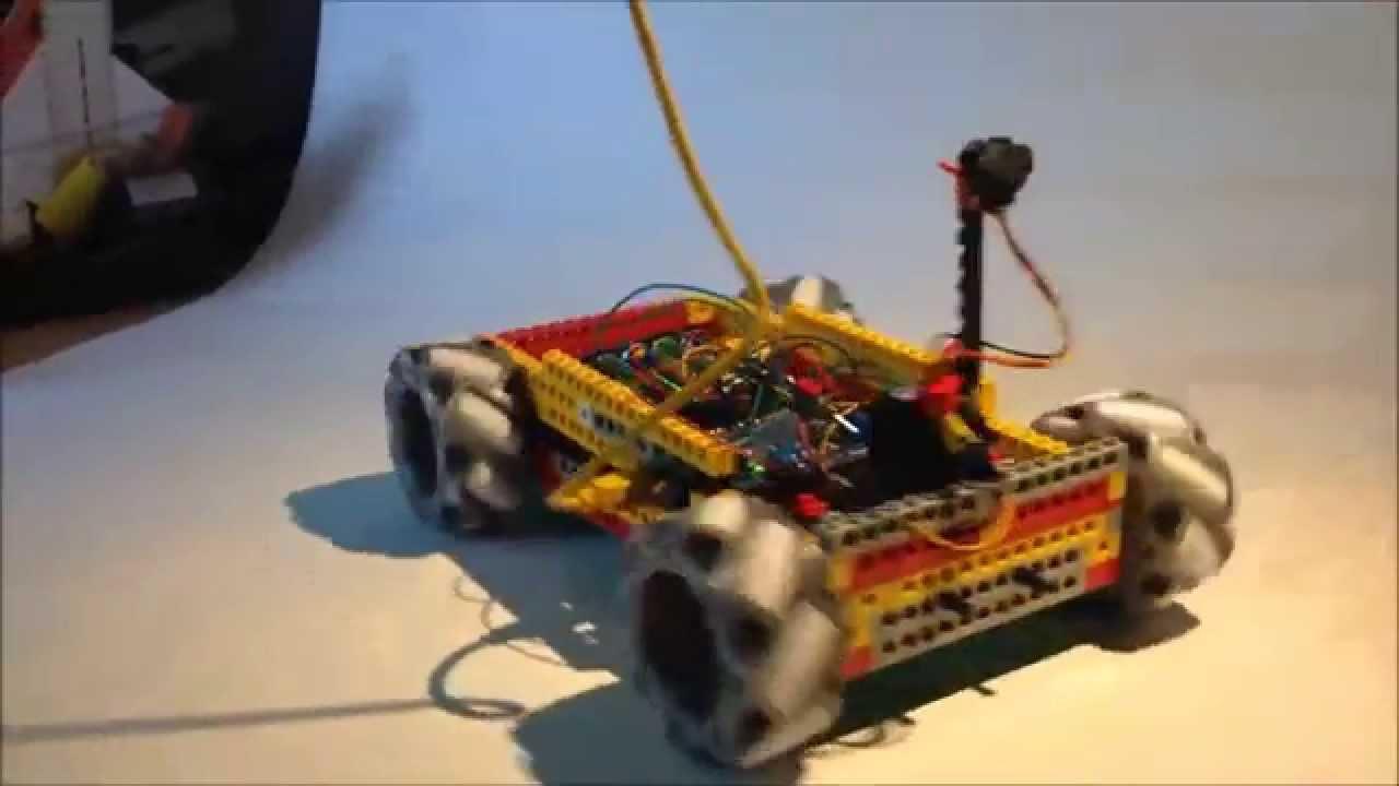 Arduino lego robot with mecanum wheels youtube