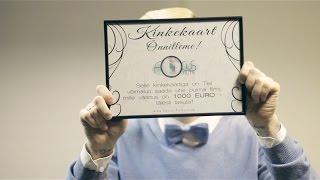 Выиграй свадебный фильм на сумму 1000 евро! Võida pulmafilm väärtusega 1000 eurot!