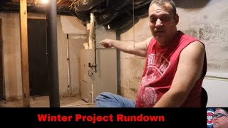 Winter Project Rundown