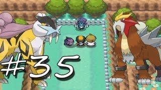 Pokemon SoulSilver - Part 35 - Raikou, Entei, & Suicune