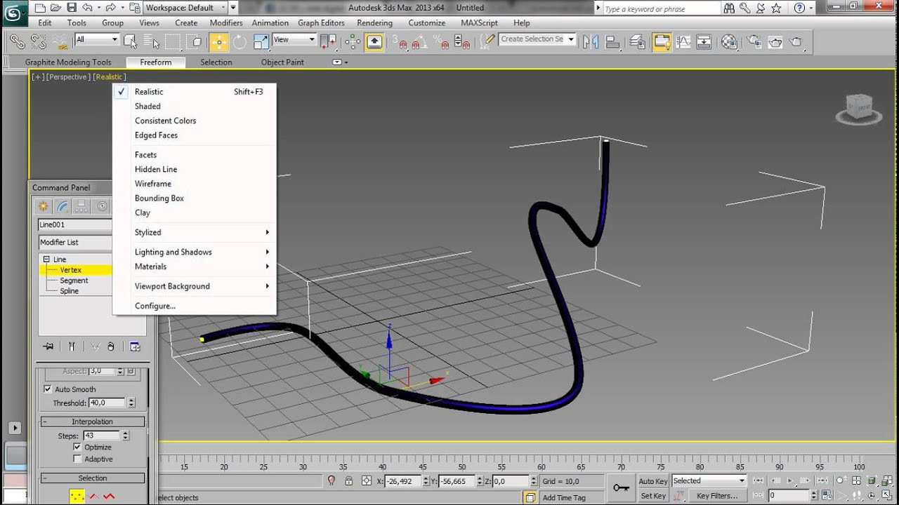 Cable En 3ds Max Youtube