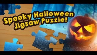 Spooky Halloween Jigsaw Puzzles for Kids - App Gameplay Video