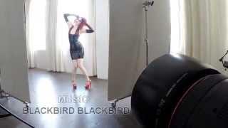 Cherry Bambaro/Ego Assassin latex - Nouvelle Magazine shoot