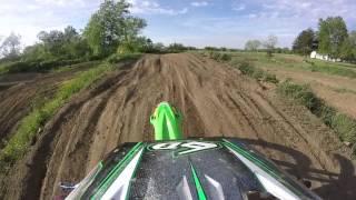 Practice track riding 2014 kx85