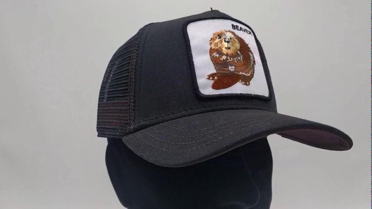 5177008878d383 Goorin Bros. Beaver Waxed Trucker cap - Black - €34,95 - GRATIS Verzending  - CapKopen.nl