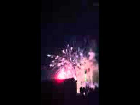 Kerman, ca fireworks show 2012
