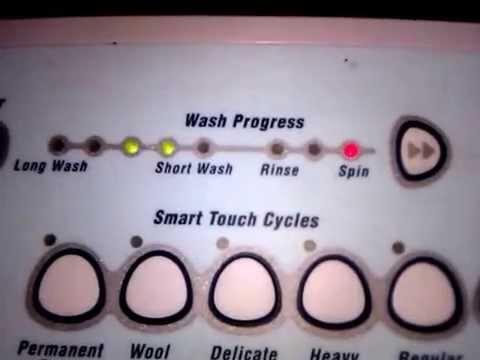 Explaining Fault Error Codes Fisher & Paykel/ Elba/ Smartdrive Washer / Washing Machine
