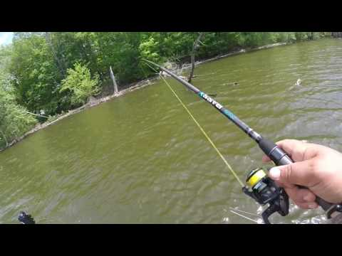 Fishing Lake Delta In NY