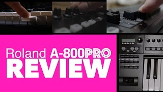 Roland A-PRO Series MIDI Keyboard Review! Thoughts After 8 Months!!