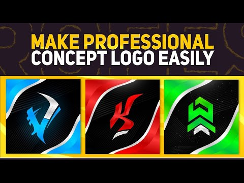 How To Make Concept Logo On Android | Concept Logo Tutorail | Concept Logo Pack
