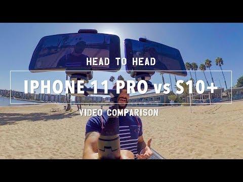 SURPRISING IPhone 11 Pro Vs Samsung S10 Video Comparison!