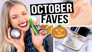 OCTOBER BEAUTY FAVORITES 2015