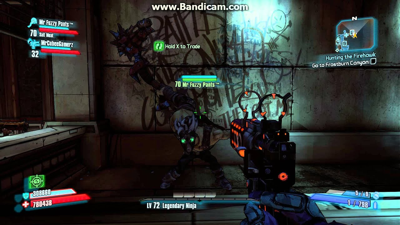 Borderlands 2 - Explosively Badass Melee Mutant Krieg ...