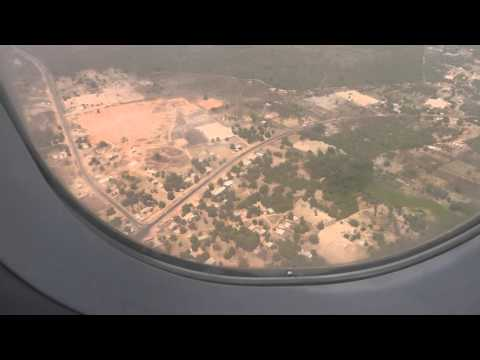 20th April 2016 landing in The Gambia (Banjul International GBYD, Thomas Cook MT2472)