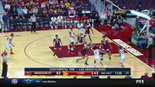 Men's Basketball: USC 83, Missouri State 75 - Highlights 12/23/16