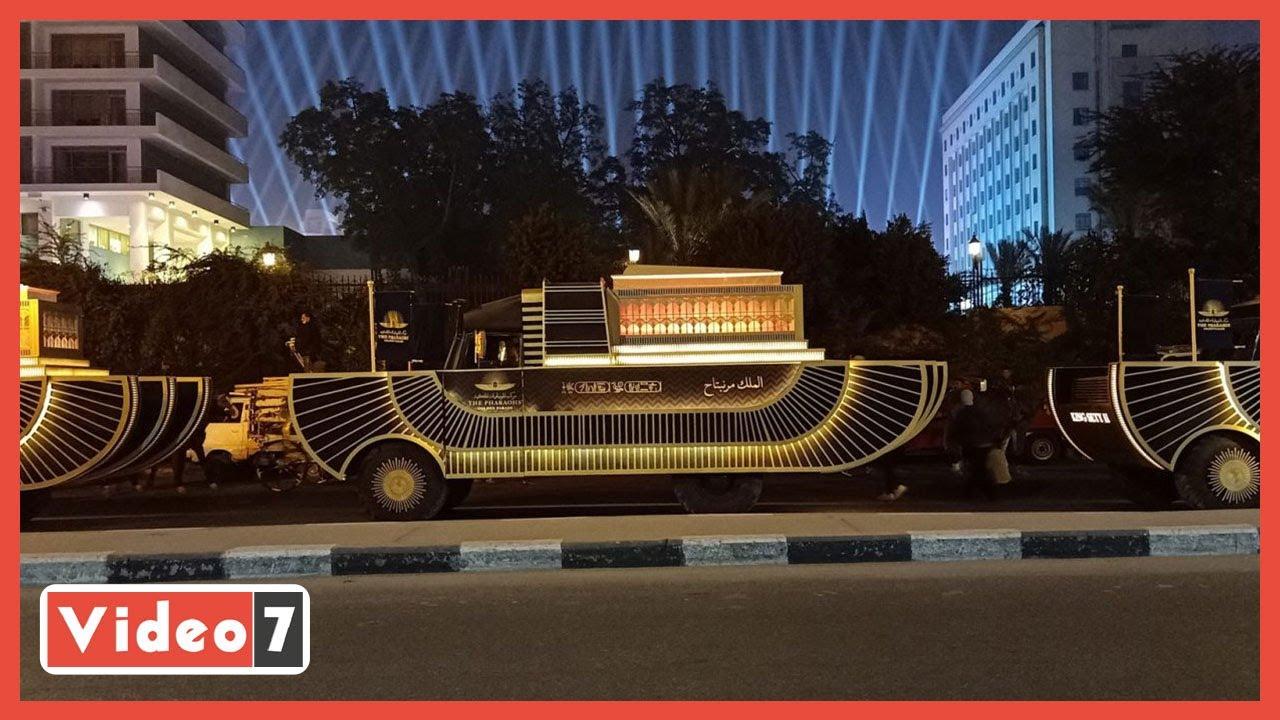 غلق محطة مترو السادات غدا لتأمين موكب نقل المومياوات الملكية