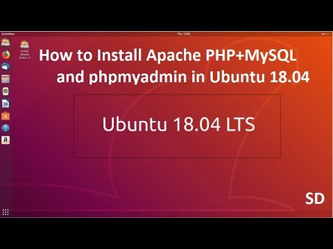 How to Install Apache PHP 7.2 + MySQL and phpmyadmin in Ubuntu 18.04